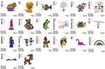 Thumbnail AMAZING CHILDREN EMBROIDERY DESIGNS AD SET OF 20